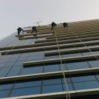 Rope access cleaning Dubai